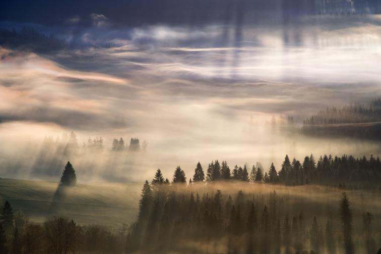 Polonya'nın Beskidy Dağlarından Göz Alıcı 13 Fotoğraf