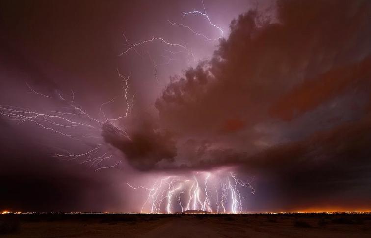 Doğanın Gücü Karşısında Çaresiz Olduğumuzu İspatlayan 20 Fotoğraf