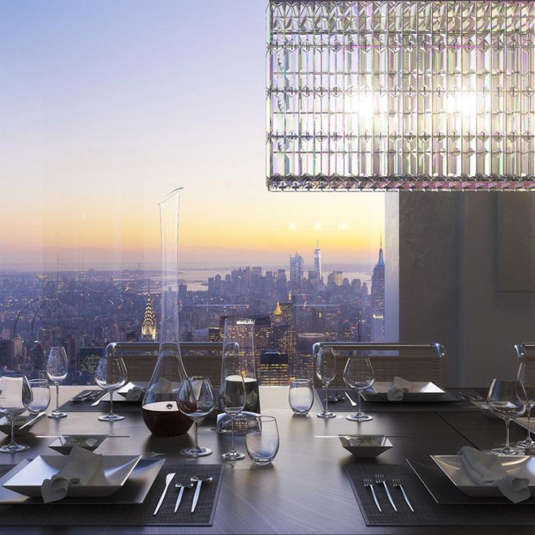 Manhattan'da 1.3 milyar dolara mal olan bir gökdelen
