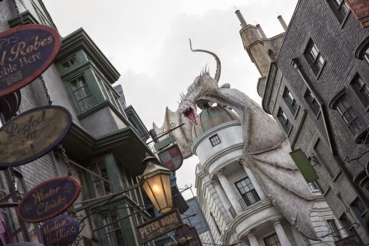 Harry Potter Parkı'ndan 10 Fotoğraf