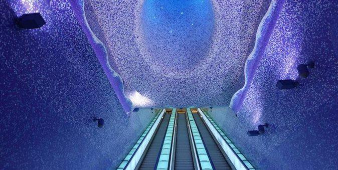Dünya üzerindeki en güzel 15 metro istasyonu