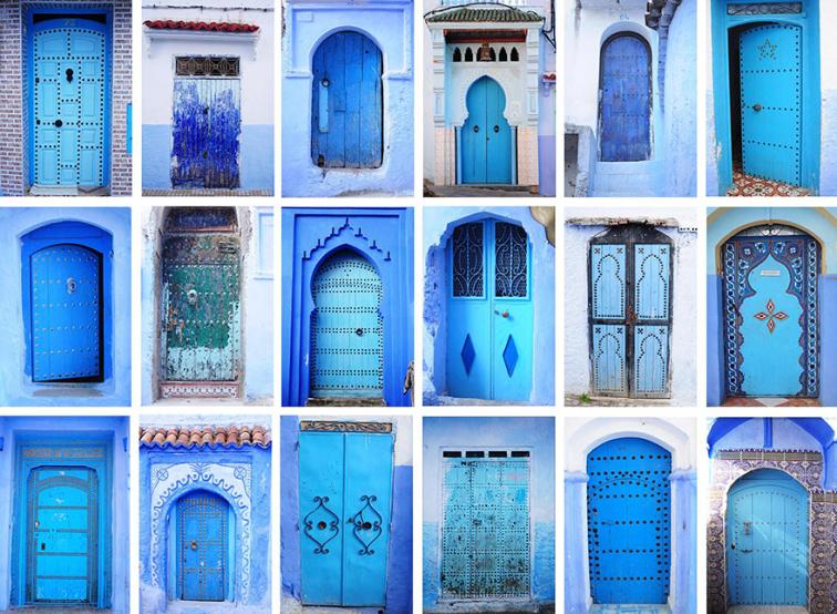 Fas'a Gideceklerin Mutlaka Görmesi Gereken Mavi Kasaba