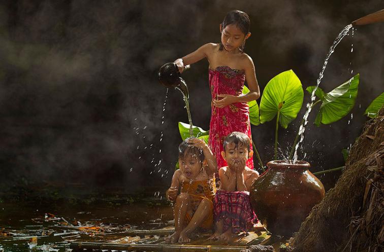 Endonezya'dan İçinizde Tatlı Kıpırtılar Oluşturacak 20 Fotoğraf