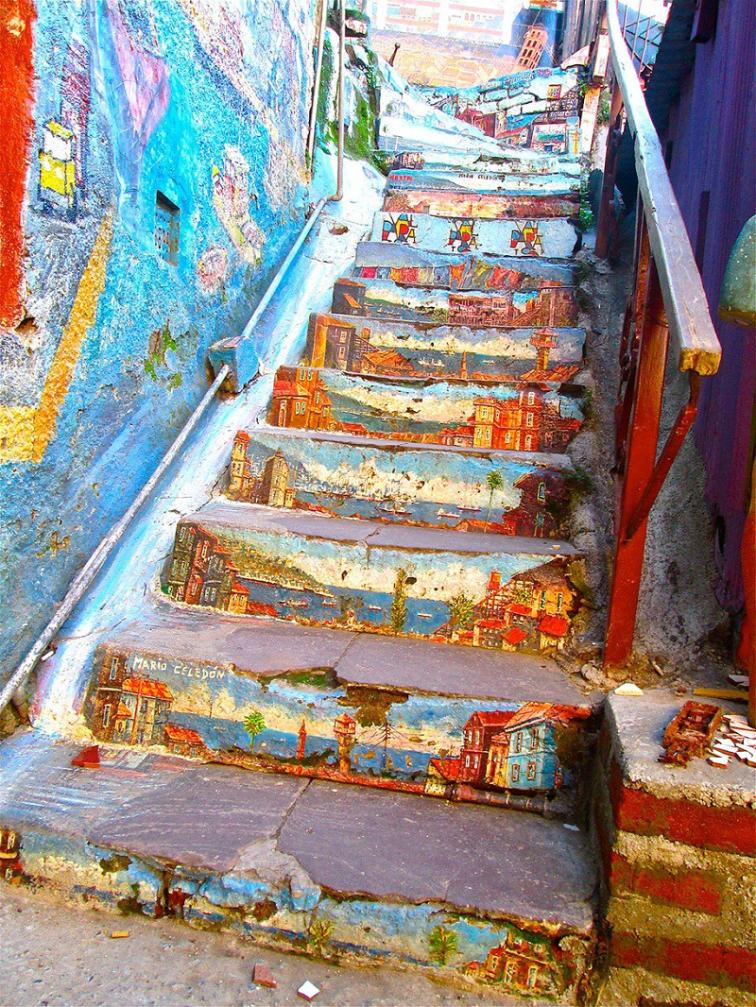 Dünyadan Göz Kamaştıran 8 Merdiven Boyama Sanatı