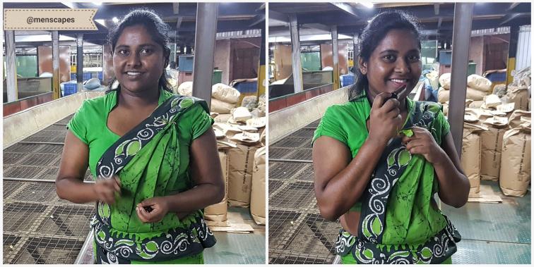 KIRMIZI RUJ Hediye Ettiği Sri Lankalı Kadınları Fotoğraflayan Gezginden Mühtiş Fotoğraflar