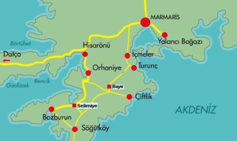 Marmaris'e bu kadar yakın, Marmaris'ten bu kadar uzak.. Gizli Cennet, Selimiye