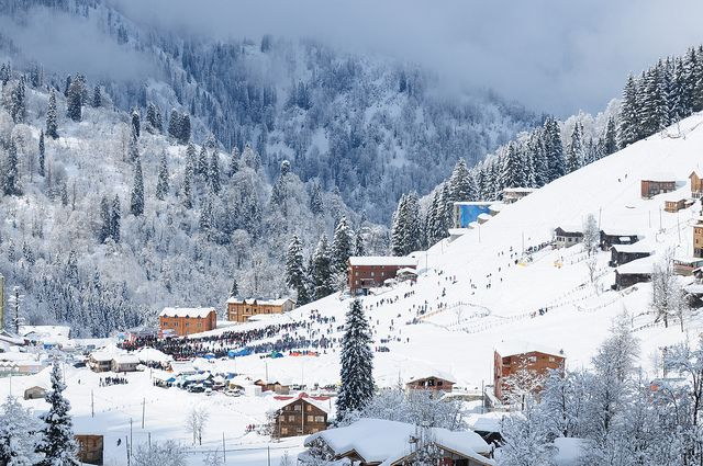 Türkiye'de kışın gezilecek yerler