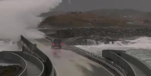Dünyanın En Tehlikeli Yolu; Atlantik Yolu, Norveç